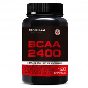 BCAA 2400 PROBIOTICA POTE 120 TABLETES