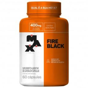 FIRE BLACK MAX TITANIUM POTE 60 CÁPSULAS