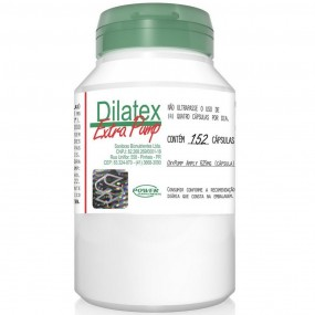 DILATEX EXTRA PUMP POWER SUPPLEMENTS POTE 152 CÁPSULAS