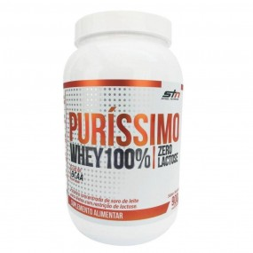 WHEY 100% PURISSIMO STN STEEL NUTRITION POTE 900G NATURAL