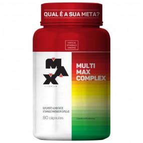 MULTIMAX COMPLEX MAX TITANIUM POTE 90 CÁPSULAS