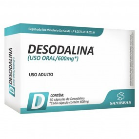 DESODALINA POWER SUPLEMENTS CAIXA 60 CÁPSULAS