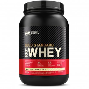 WHEY 100% GOLD STANDARD ON POTE 907G