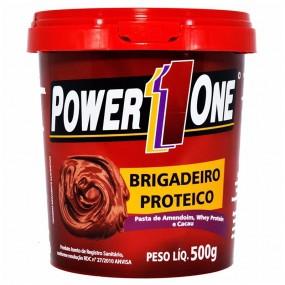 PASTA DE AMENDOIM POWER ONE POTE 500G