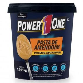 PASTA DE AMENDOIM POWER ONE POTE 1,005KG