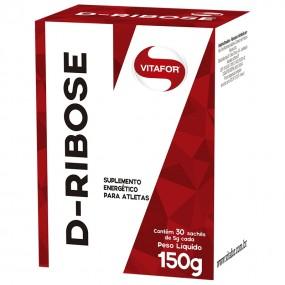 D-RIBOSE VITAFOR CAIXA COM 30 SACHES 5G CADA