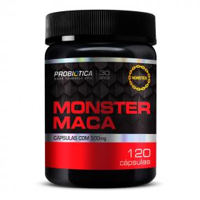 MONSTER MACA PERUANA PROBIOTICA POTE 120 CÁPSULAS 120