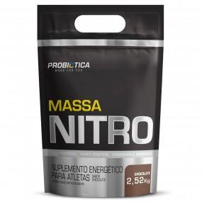 MASSA NITRO PROBIOTICA REFIL 2520KG 2520G CHOCOLATE