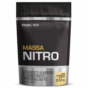 MASSA NITRO PROBIOTICA REFIL 2520KG 2520G BAUNILHA