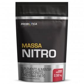 MASSA NITRO PROBIOTICA REFIL 2520KG 2520G MORANGO
