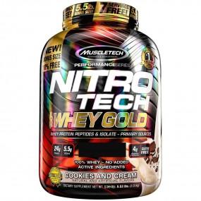 WHEY GOLD 100% NITROTECH 2.49KG