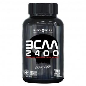 BCAA 2400  BLACK SKULL POTE 100 TABLETES
