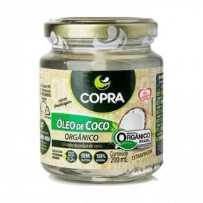 OLEO DE COCO 200ML ORGANICO
